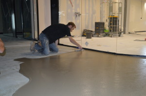 Microscreed Installation